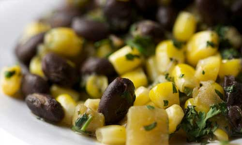 Black Beans with Corn and Green Chiles